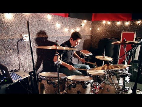 Radioactive - Imagine Dragons(ft. Kendrick Lamar) - David Cannava drum cover