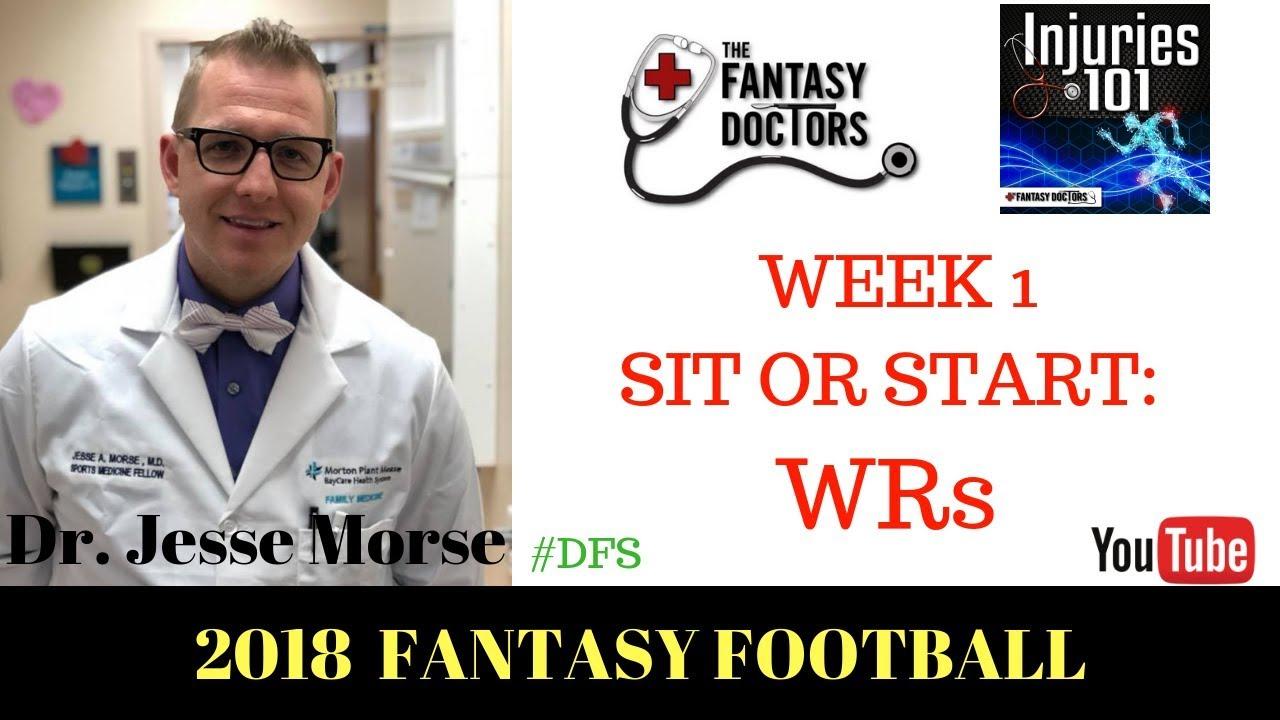 Start 'em, Sit 'em Week 1: Josh Gordon and Other WR/TE Start/Sit Fantasy Advice