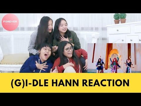(G)I-DLE HANN Official Music Video REACTION