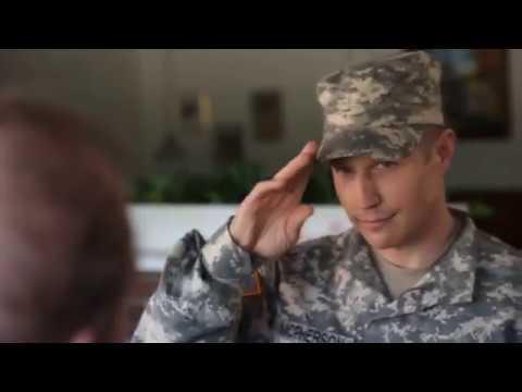 감동적인 미국의 군인에 대한 의식을 제대로 보여주는 공익광고