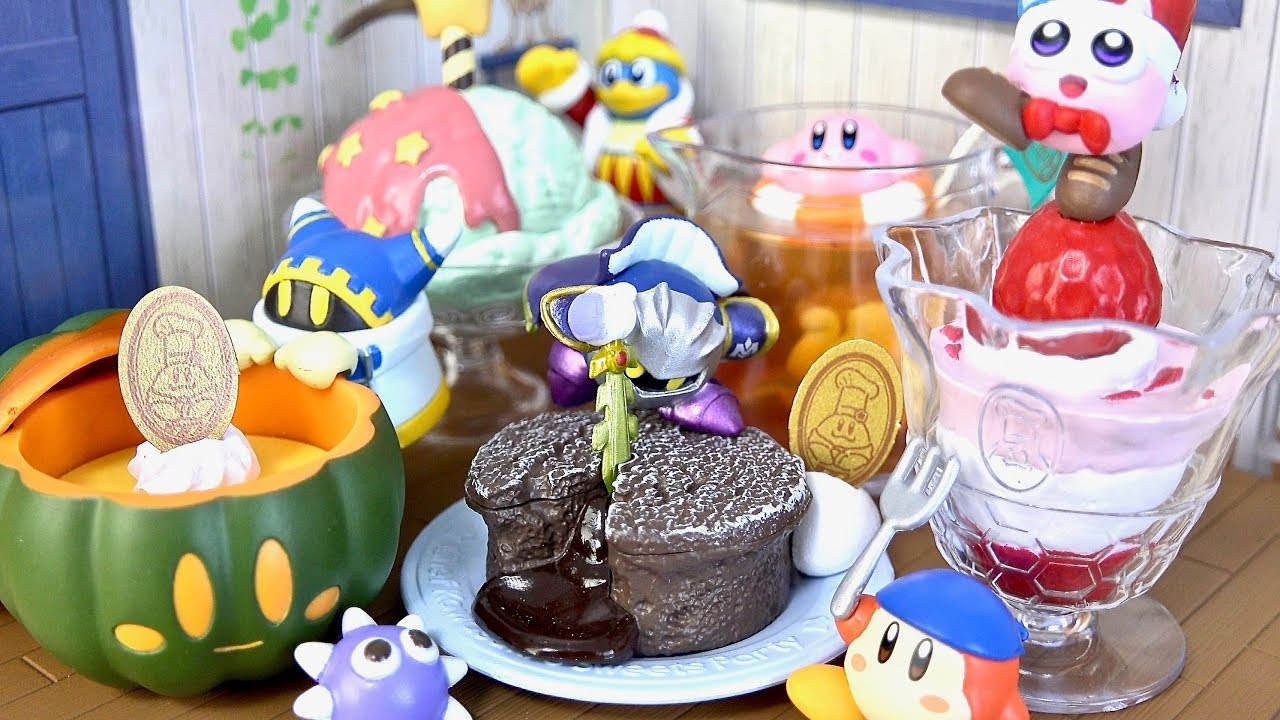 Re-Ment Miniature Star Kirby/'s Tea Time Sweets Party # 7 Apple tea