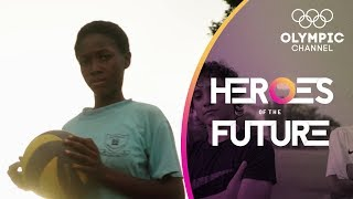 From Soweto slum to Kenya's top volleyball prospect at age 12 | Heroes of the Future