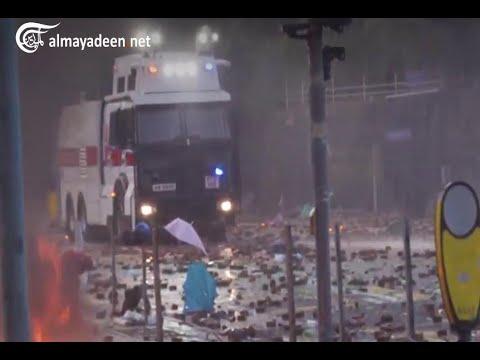 استمرار تصاعد اعمال العنف في هونغ كونغ