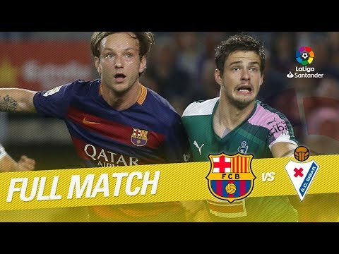 Download Full Match FC Barcelona vs SD Eibar LaLiga 2015/2016