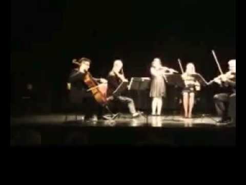 MORENA QERKEZI, flute / Radetzky March