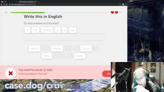Conlanger cheats Esperanto