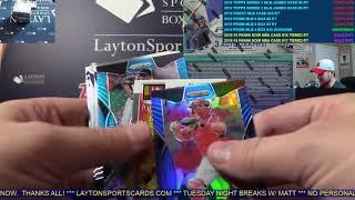 2019 Panini Prizm Baseball Hobby 6 Box Break #10   RANDOM DIVISIONS