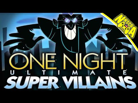 WHEN THE SETUP IS FUNNIER THAN THE GAME - Tabletop Simulator One Night Super Villains |