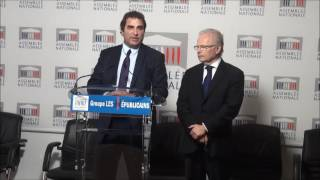 Conférence de Presse du Président Christian Jacob du 31/01/2017