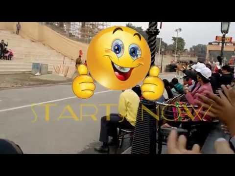 Enjoy V.V.I.P Parade at Wagah Border || Amritsar || Flag Retreat Ceremony || Punjab || NEW !