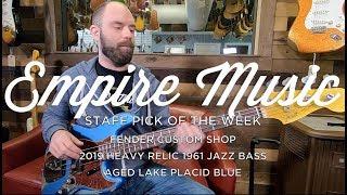 Staff Pick Of The Week - Fender Custom Shop '61 Jazz Bass