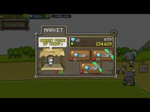 Grow Castle - MARKET Explained How It Works
