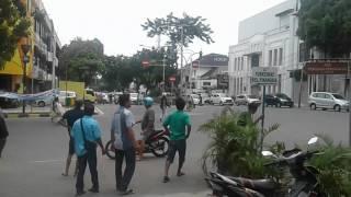 sparing gojek vs supir angkot live at jln kunir kota tua jakbar