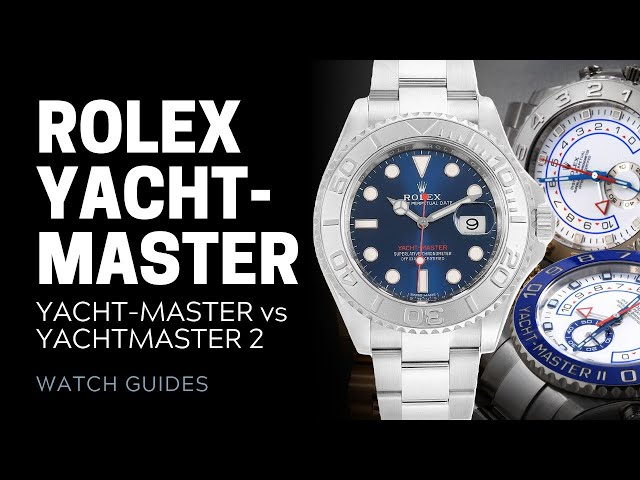 Rolex Yacht-Master vs Yacht-Master II: What's the Difference? | SwissWatchExpo [Rolex Watches]
