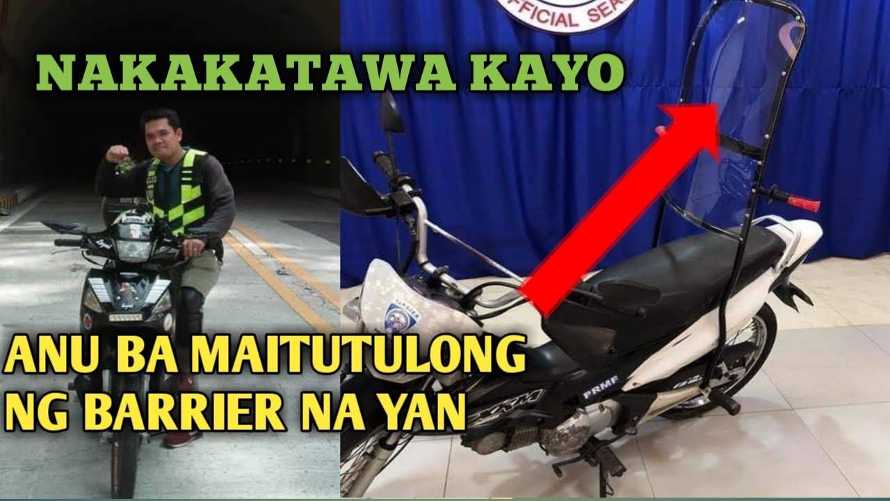 ANU BA MAITUTULONG NG MOTORCYCLE BARRIER