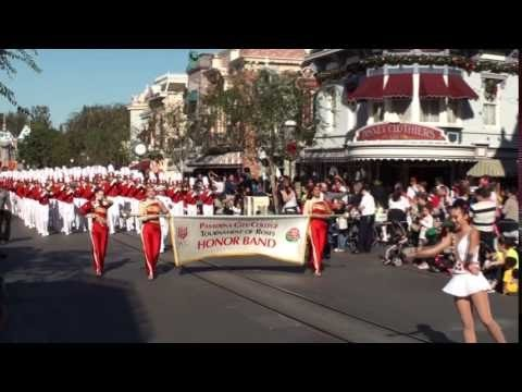 2017 PCC Tournament of Roses Herald Trumpets & Honor Band - Disneyland