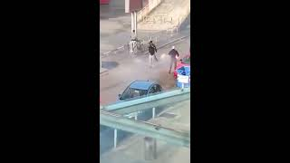 Olympiakos fans - Hungarians  riots | Greece - Hungary  11.10.2015|