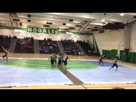 Charter Oak High School Winterguard 2016 @ Nogales