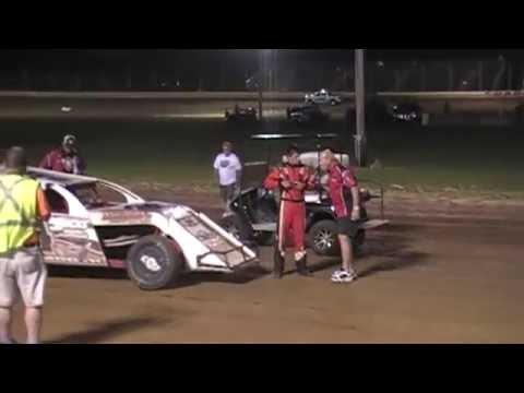 Jacob Eucker - 8-20-16 - Modified Feature - Sharon Speedway - dirt track racing video image