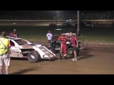 Jacob Eucker - 8-20-16 - Modified Feature - Sharon Speedway