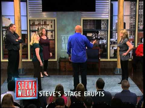 Steve's Stage Erupts (The Steve Wilkos Show)