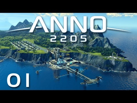 Anno 2205 #01 - Willkommen im Paradies [Gameplay German Deutsch] [Let's Play]