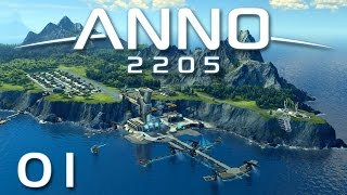 Anno 2205 #01 - Willkommen im Paradies [Gameplay German Deutsch] [Let