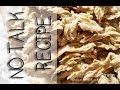 NO TALK RECIPE - VEGAN SHREDDED CHICKON RECIPE SEITAN  PRESSURE COOKER  | Connie's RAWsome kitchen