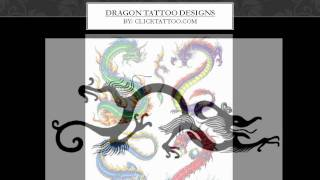 Dragon Tattoo Designs: Good Luck, Wealth, Freedom and Fearlessness