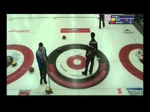 Ontario Pepsi Junior Curling: James Harris vs Pascal Michaud