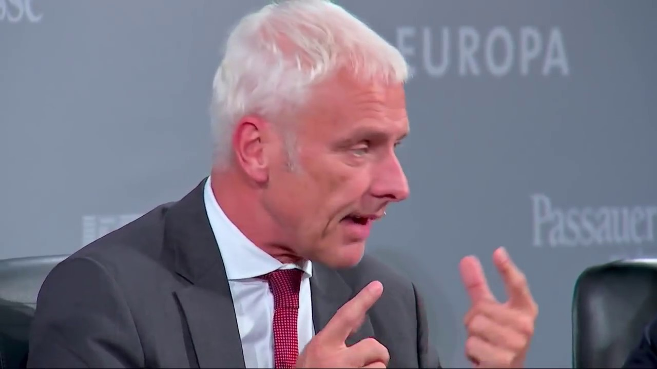 Volkswagen-Chef Matthias Müller über Tesla - VW vs. Tesla - YouTube