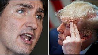 So heftig distanziert sich Justin Trudeau von Trumps rassistischen Twittertiraden