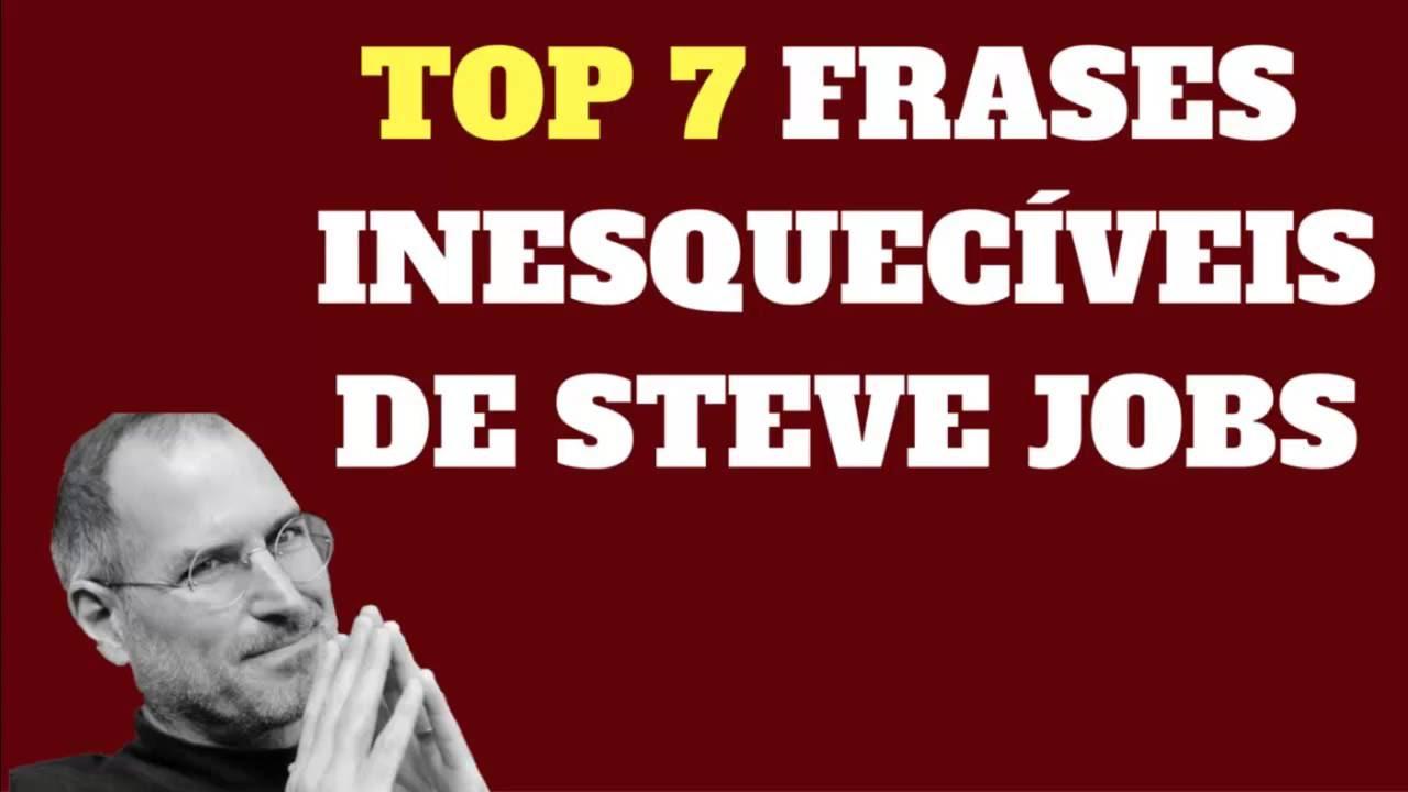 Frases De Motivacao Sobre Suicidio: Top 7 Frases De Steve Jobs Sobre Empreendedorismo