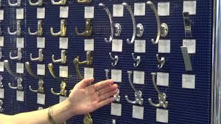 Обзор мебельных крючков