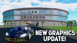 HD GRAPHICS + 3 NEW CARS UPDATE in CAR CRUSHERS 2! (Roblox)