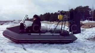 видео: Аэролодка на базе HUNTERBOAT 320 своими руками. Фильм 1.