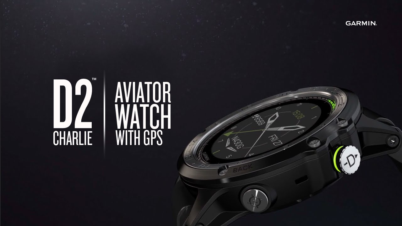 1517b5ecf Garmin D2 Charlie Aviator Watch: Keep Track of Your Day. And Your Flight.