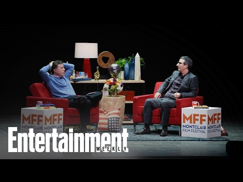 John Oliver & Stephen Colbert Talk Donald Trump And Election | News Flash | Entertainment Weekly