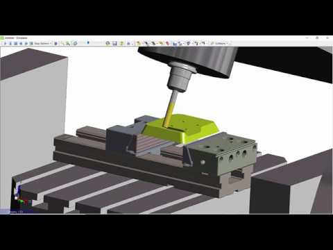 Advanced 5 Axis Cycle Enhanced Gouge Checking | EDGECAM 2020.0