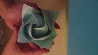 Origami Rose Tutorial