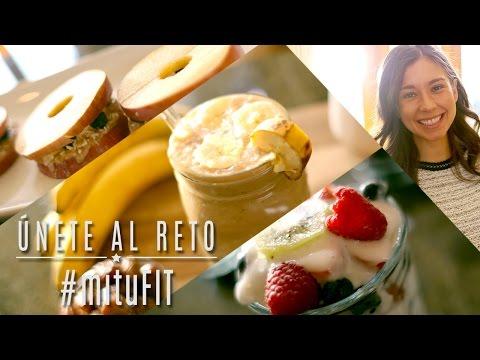 3 Desayunos Saludables - #mituFIT con Rawvana