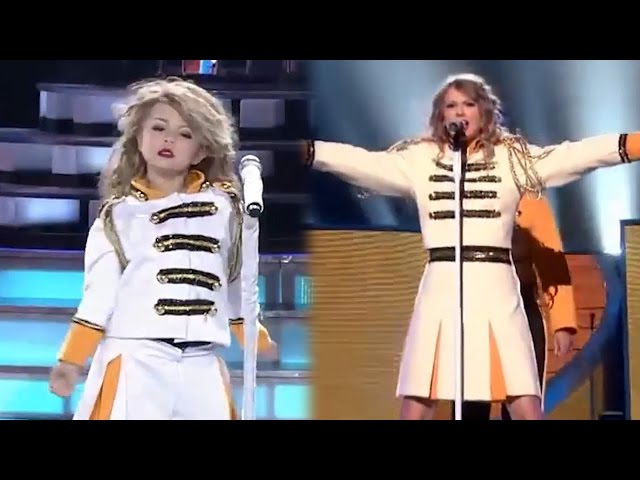 7-Year-Old Flawlessly IMPERSONATES Taylor Swift & Breaks The Internet