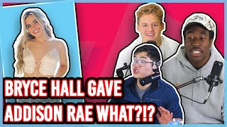ADDISON RAE GOT WHAT FROM BRYCE HALL?!?! (SECRET REVEALED)