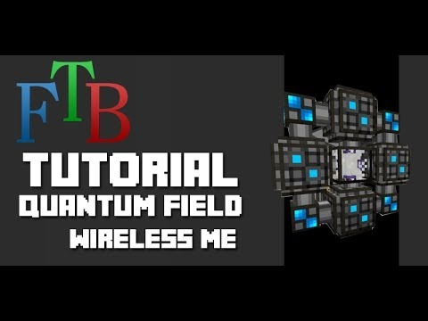 FTB - Quantum Field Rings - Wireless ME Network Connection