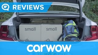 Volvo S90 2017 Saloon practicality review   Mat Watson Reviews