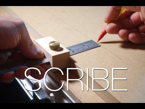 Make a Wood Scribe Marking Tool