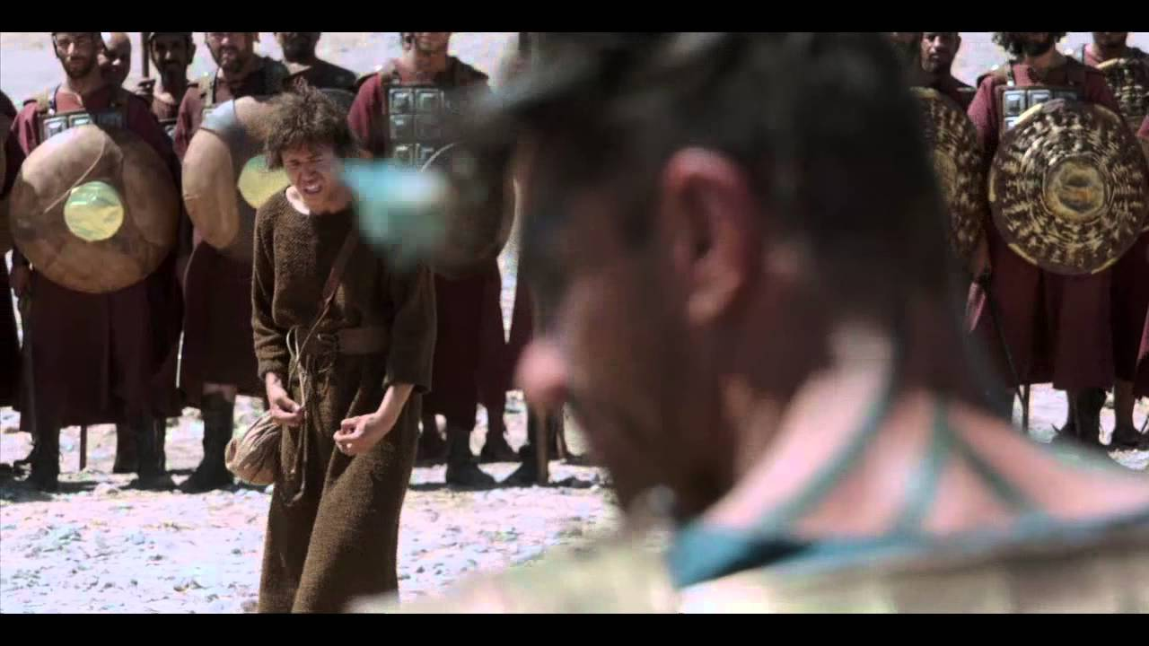 the bible preview david and goliath youtube