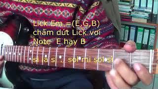 Cach thuc don gian tao Lick trong guitar solo (Phan 2)