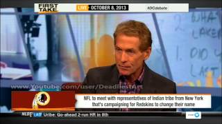ESPN First Take | Should the Redskins change their name? - ESPN Sport First Take