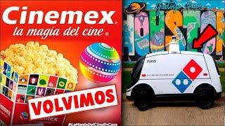 ¡CINEMEX REGRESA EN MAYO 2021! | Pepsi Abre Su Propio Restaurante